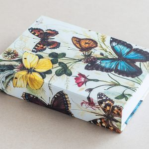 Jotter pad yellow butterflies