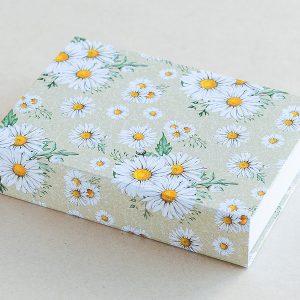 Jotter pad botanical daisies