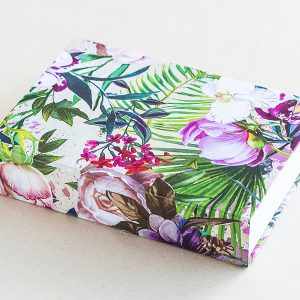 Jotter pad floral mixed