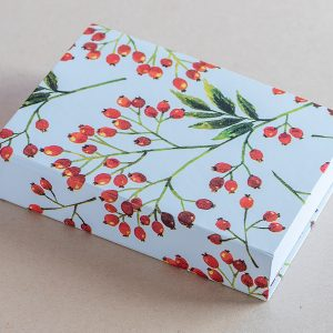 Jotter pad berries red