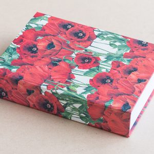 Jotter pad poppies