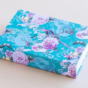 Jotter pad birds vintage turquoise