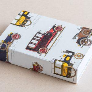 Jotter pad vintage cars