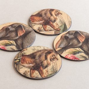 coasters animals