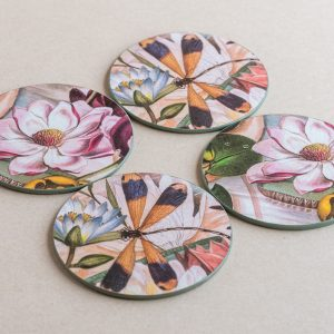 coasters lillies