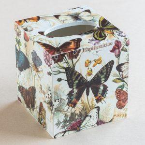 Tissue Box Cover Butterflies (Bomo Design)