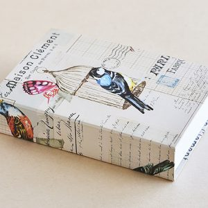 Jotter pad birds french