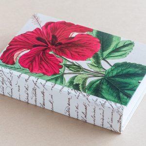 Jotter pad botanical hibiscus