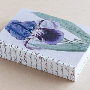 Jotter pad botanical iris