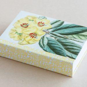 Jotter pad botanical primrose yellow
