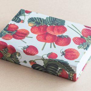 Jotter pad strawberries