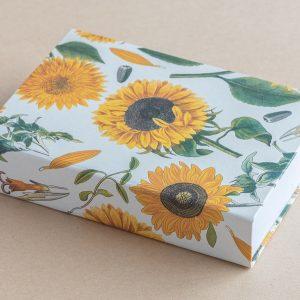 Jotter pad sunflowers