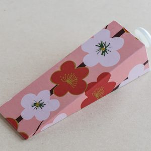 Doorstop Flowers Red White