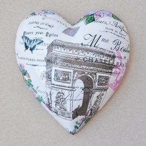 Heart Hanging Arc De Triumph