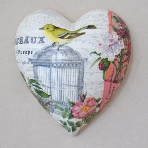 Heart Hanging Bird Cage