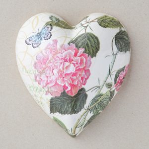 Heart Hanging Camellia Pink
