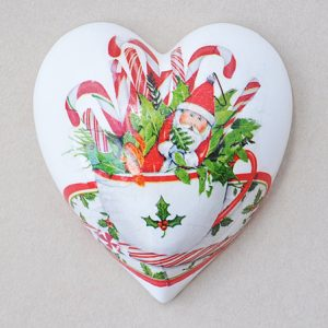Heart Hanging Christmas Cup