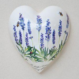 Heart Hanging Lavender