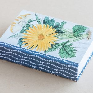 Jotter pad botanical daisy yellow