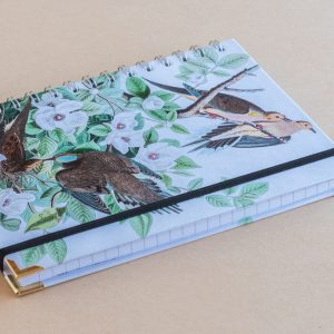 Notebook Lined A5 birds nest