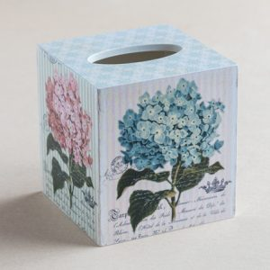 Tissue Box Cover Hydrangeas