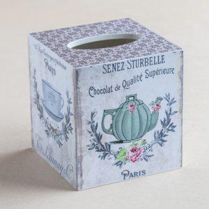 Tissue Box Cover Tea Pots
