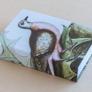 Jotter pad bird ivy