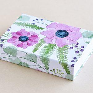 Jotter pad pink flower bold