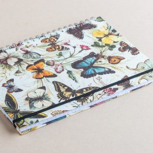 Notebook Lined A4 butterflies