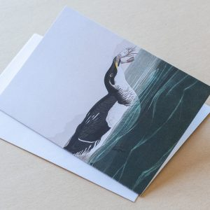 Greeting Card –  Bird Fish 04