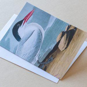 Greeting Card – Bird Seagull 09