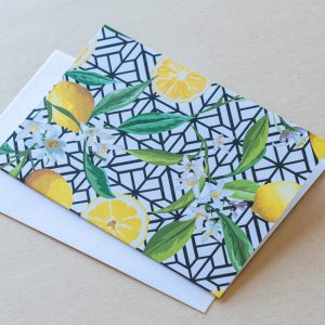 Greeting Card – Lemons 02