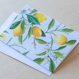 Greeting Card – Lemons 3