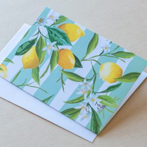 Greeting Card – Lemons 04