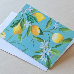 Greeting Card – Lemons 05