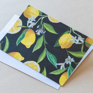 Greeting Card – Lemons 06