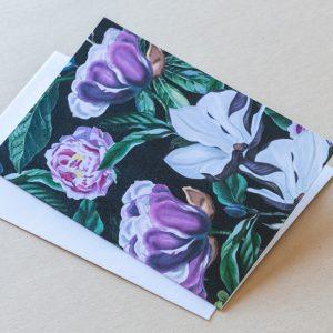 Greeting Card – Magnolia Black 03