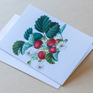 Greeting Card – Strawberries 01