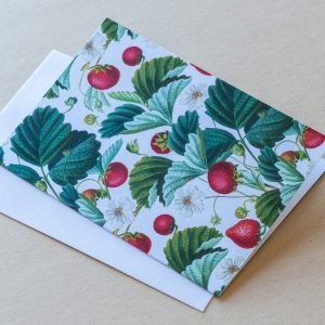 Greeting Card – Strawberries 02