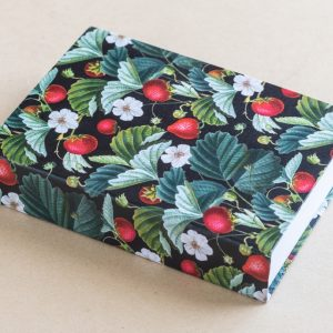 Jotter Pad Strawberries Black