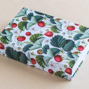 Jotter Pad Strawberries White