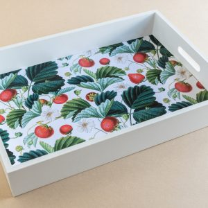 Tray Strawberries White