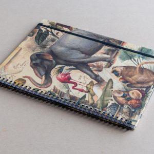 A4 notebook – animals – bomo