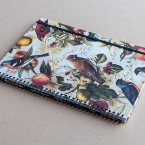 A4 notebook – birds – bomo