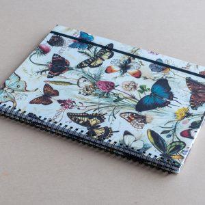 A4 notebook – butterflies – bomo