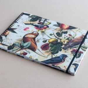 A4 sketchbook – birds – bomo