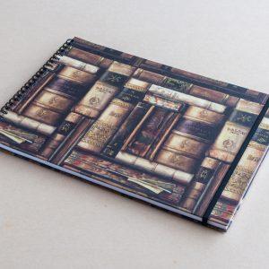A4 sketchbook – books – bomo