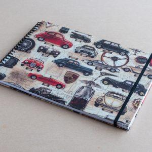 A4 sketchbook – cars – bomo