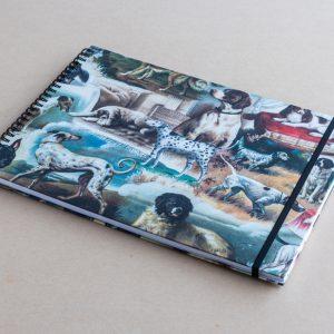 A4 sketchbook – dogs – bomo