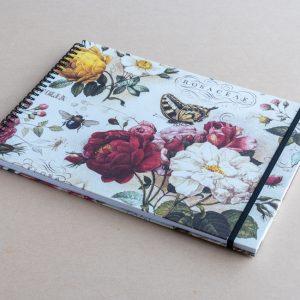 A4 sketchbook – roses – bomo